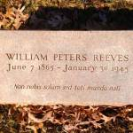 William Peter Reeves Grave Site